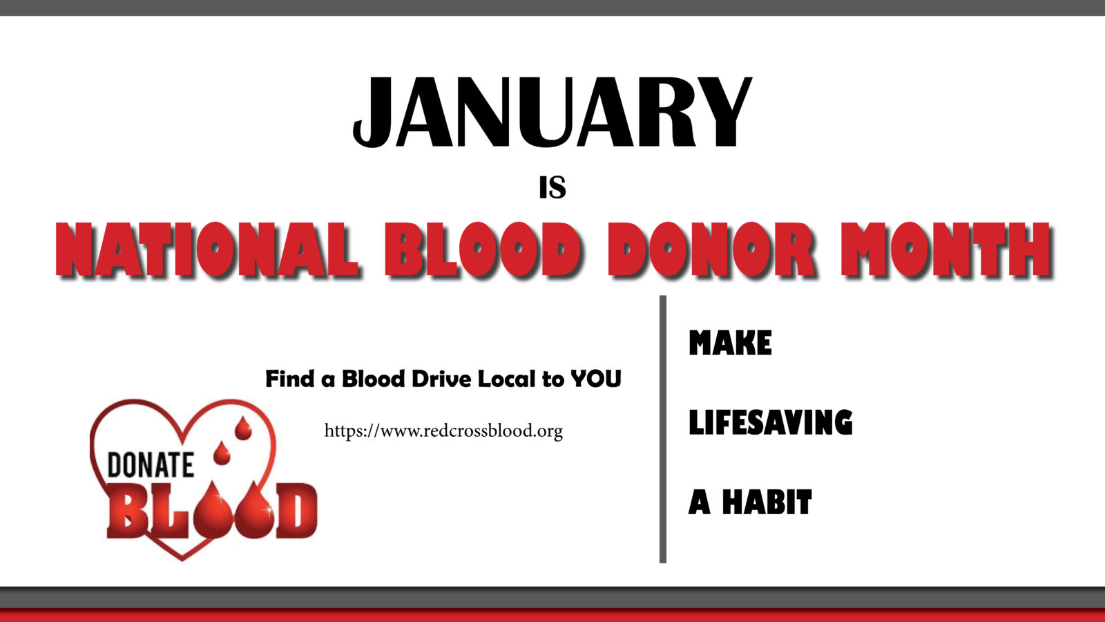 National Blood Donor Month Blue Cirrus Consulting