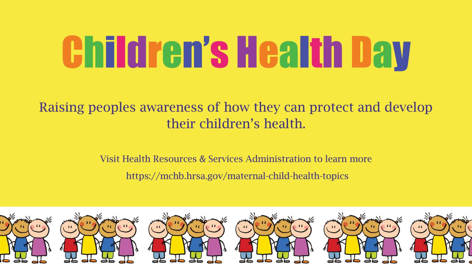 Children's Health Day | Blue C...